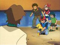 EP316 Nuestros heroes preocupados por la salud de Pikachu