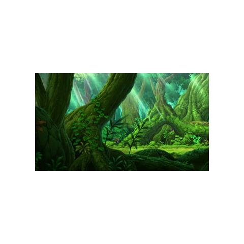 Bosque Azulejo por dentro.