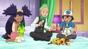 EP707 Muñecos de Axew y Pikachu