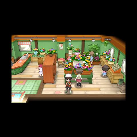 Interior de la floristería en la <a href=
