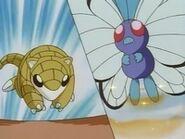 EP008 Sandshrew vs Butterfree