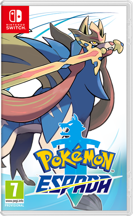 Carátula de Pokémon Espada