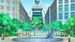 EP870 Pokémon en la plaza