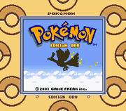 Pokémon Oro (Torre GB)
