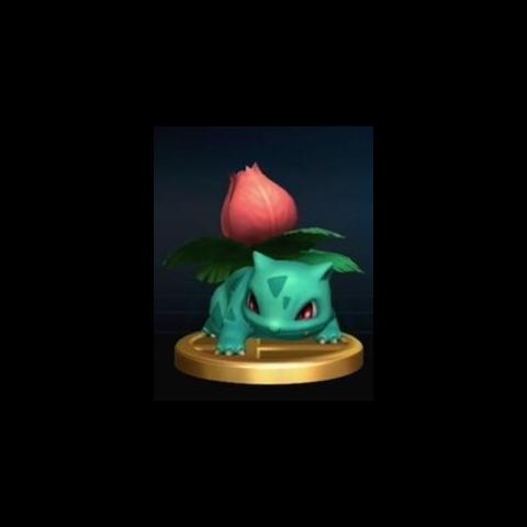 Trofeo de Ivysaur en <a href=
