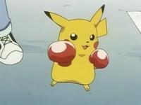 EP029 Pikachu de boxeador