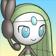 Cara de Meloetta 3DS