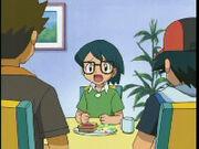 EP310 Max hablando con Ash y Brock