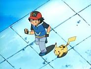 EP436 Ash y Pikachu