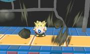 Togepi usando terremoto SSB4 3DS