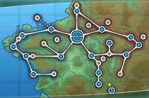Mapa Kalos juegos