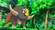 EP714 Bouffalant vs Pikachu