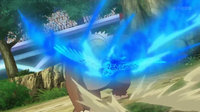 EP930 Talonflame de Ash usando pájaro osado
