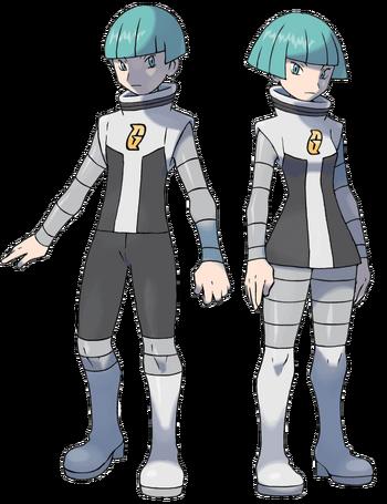 """Reclutas Galaxia en <a href=""""/es/wiki/Pok%C3%A9mon_Diamante_y_Perla"""" title=""""Pokémon Diamante y Perla"""" class=""""mw-redirect"""">Pokémon Diamante y Perla</a>"""