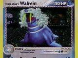 Team Aqua's Walrein (Team Magma Vs. Team Aqua TCG)