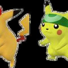 Paleta de colores de Pikachu en Super Smash Bros. Brawl.