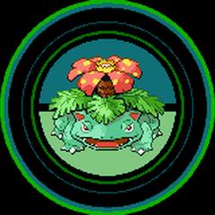 Venusaur en los créditos de Pokémon Rojo Fuego y Verde Hoja.