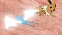 EP1008 Zubat usando ataque ala