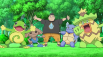 EP869 Benigno y sus Pokémon