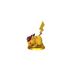 Trofeo de Pikachu (alt.) en Nintendo 3DS