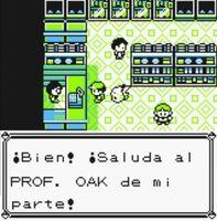 Correo para Oak Tienda Pokémon de Ciudad Verde (Amarillo)(2)