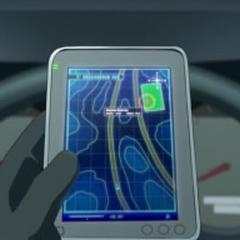 GPS que les ayudó a localizar a Braviary.