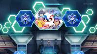 EP933 Pantalla del combate de Ash y Alain (5)