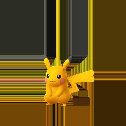 Pikachu GO variocolor hembra