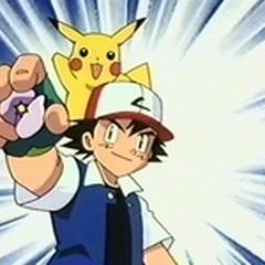 Ash con la medalla Estrella Jade.