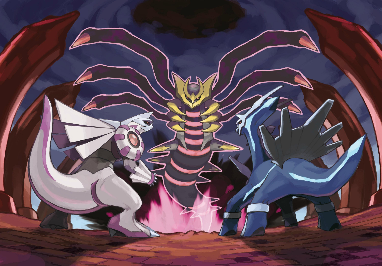 """""""Trio Dragón"""" tan sólo falta Dialga para completarlo."""