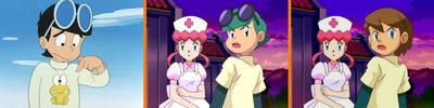 Comparación entre Hiroshi, Hiroki y Takuya