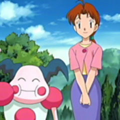Mr. Mime junto a <a href=