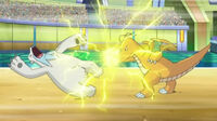 EP752 Dragonite vs Beartic