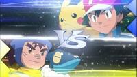 EP821 Ash VS Sanpei