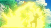 EP950 Pikachu usando rayo