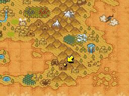 Ubicación de las Ruinas camufladas