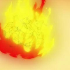 Aggron quemado.