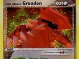Team Magma's Groudon (Team Magma Vs. Team Aqua TCG)