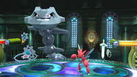 Klinklang, Steelix, Scizor y Honedge SSB4 Wii U