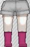 Calcetines rosa