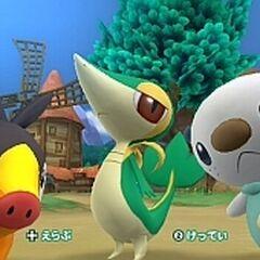Se podrá alternar entre los 4 Pokémon para protagonizar la aventura.