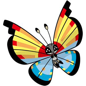 Vivillon océano (dream world)