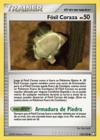 Fósil Coraza (Tesoros Misteriosos TCG)