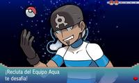 VS Recluta del Equipo Aqua (hombre) completo