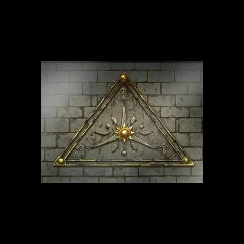 Triángulo del <a href=