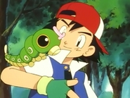 EP003 Ash y Caterpie