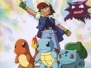 EP024 Ash, sus Pokémon y Haunter