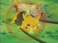 EP010 Pikachu usando impactrueno