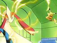 EP435 Choque entre Milotic y Pikachu