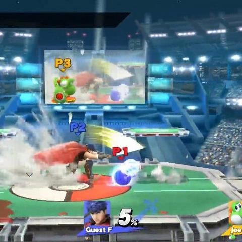 Estadio Pokémon 2 regresa en Super Smash Bros. para Wii U.